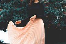 Dresses, skirts, blouses