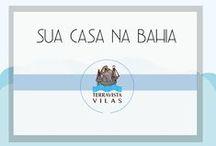 Terravista Vilas - Sua casa na Bahia - Your home in Bahia! / As casas do Condomínio Terravista Vilas são decoradas no estilo rústico-chic que já virou marca registrada de Trancoso. Com cozinha totalmente equipada, sala de jantar e aconchegantes varandas. As suítes são amplas e confortáveis. The villas are all decorated in the rustic-chic style that has become Trancoso's trademark. Each of the houses includes a fully equipped kitchen, a dining room, large and comfortable suites and fabulous verandas.