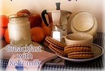 Kefir beverage / Health and wellness with #Kefir #milk
