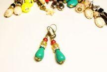jewelry / Aros / Earrings / Aros - Pulseras - Collares - Accesorios para el pelo - Anillo - Prendedores - Llaveros
