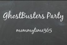 Ghostbusters Party {mommytime365} / Fun birthday theme or for a Halloween Party  #Ghostbusters #birthdayparty #mommytime365 #halloween