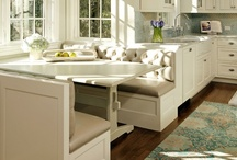 Inspiration - Booths in Kitchens