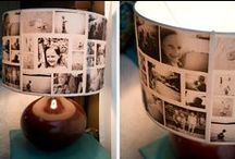 Home: Photo Display Ideas / Ways to decorate your home using photo art!