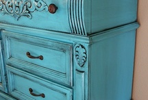 Painted furniture love / by Eye Candy Home Decor Tami Pullins