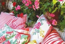 Vintage tablecloths / by Eye Candy Home Decor Tami Pullins