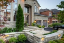 Landscaping--Design Ideas / Landscaping Ideas & Rock Features for our Front Yard, Entry Rock Gardens and Sidewalk. Our attempt at making the exterior of our home as beautiful as the interior, and as equally beautiful as the surrounding landscape. / by Jennie N