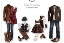 Family Portrait Style / Style ideas for your family portrait!
