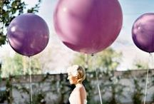 Purple Wedding Colors / Ceremony and reception ideas for a purple themed wedding.