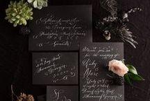 Black Wedding Colors
