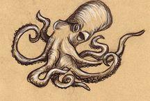 Next tattoo ideas / Next tattoo will be something aquatic. Sharks, fish, octopus etc