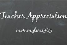 Teacher Appreciation Gift Ideas {mommytime365} / For all that our teachers do for our kiddos. Craft/Gift Ideas for Teacher Appreciation Day or for the last day of school gift.