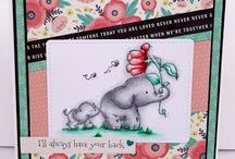 My Stamping Bella Stuffies cards