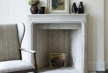 Fireplace and Mantel