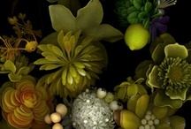 les fleurs / by Sarah Gordon Papworth