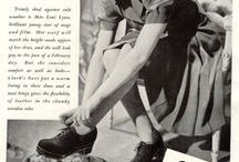 Clarks Vintage / A proud tradition of comfort and style, as shown through Clarks advertising campaigns.