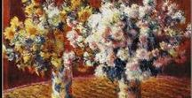 Monet Cross Stitch Patterns by Cross Stitch Collectibles / Fine art counted cross stitch patterns adapted from the awesome Impressionist paintings of French artist Claude Monet.  Designs by Kathleen George, Cross Stitch Collectibles