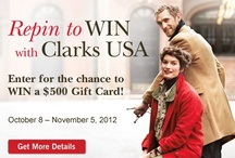 Repin to Win with Clarks USA / Show off your fall style with Clarks USA, and you could win a $500 Gift Card! #repinclarks