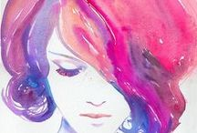 artistic.  / Pretty prints, pretty paintings, inspirations / by Danielle