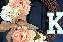 Wreaths / by Tiara Nugent