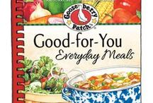 Good for You Everyday Meals | Gooseberry Patch cookbook / Recipes from our cookbook, Good-For-You Everyday Meals, that have been featured by some of our favorite bloggers! The names of the dishes are in the descriptions...click through for complete recipes.  / by Gooseberry Patch
