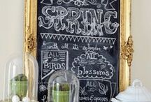 Spring / Beautiful Spring and Easter decor ideas