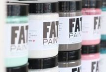 Fat Paint / FAT Paint chalk style paint is Canadian Made and wonderful to work with. Easy to use to create beautiful pieces. Are you a creative retailer interested in carrying FAT Paint? FAT Paint is growing and looking for new retailers contact them today! http://thefatpaintcompany.com