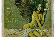 Absinthe / The Green Fairy / Absinthe / The Green Fairy / La Fee Vert / L'Heure Verte / Victorian