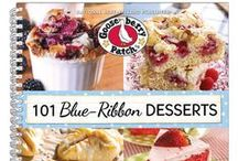 101 Blue Ribbon Desserts | Gooseberry Patch Cookbook / These are recipes from our cookbook, 101 Blue Ribbon Desserts, that have been featured by some of our favorite bloggers! The names of the dishes are in the descriptions...click through for complete recipes.  / by Gooseberry Patch