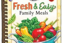 Fresh & Easy Family Meals | Gooseberry Patch Cookbook / These are recipes from our cookbook, Fresh & Easy Family Meals that have been featured by some of our favorite bloggers! The names of the dishes are in the descriptions...click through for complete recipes.