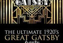 the great gatsby theme / ball theme