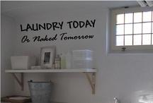Decor + Laundry room