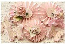paper medallion rosettes
