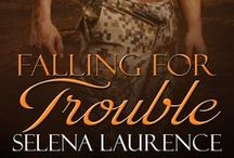 """Falling For Trouble (formerly """"Camouflaged"""") / A Good Girl Tempted to Sin... A Bad Boy Pushed to His Limits... A War That Forces Them to Rely on Each Other... Love might actually be worth fighting for."""