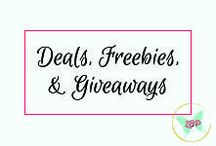 Deals, Freebies, & Giveaways / Links to contests, deals, and giveaways I host or find around the web.
