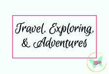 Travel, Exploring, & Adventures / Pins all about travel - destinations, fun, tips, and tricks!