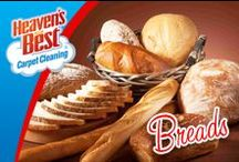 Bread / If bread is considered the staff of life and we should consume whole grains every day, Heaven's Best should be a constant in your life too. They use a powerful formula that is safe for people, pets and the environment and will have your carpets dried in 1 hour. Give Greg Humprey in Charlotte NC a call today. 704-363-7487