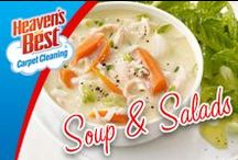 Soups and Salads / Soup is a great thing to make on a winter day. Getting your carpets cleaned before Winter comes is a good idea too. Call Greg Humphrey in Charlotte NC today. 704-363-7487