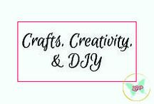 Crafts, Creativity, & DIY / An amalgamation of crafts, creativity, and DIY projects.