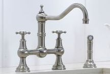 Perrin and Rowe Kitchen Taps / Handmade kitchen taps by British company Perrin and Rowe