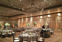 Room Draping / Transform your space with Room Draping from Elegant Event Lighting Chicago! www.EELchicago.com