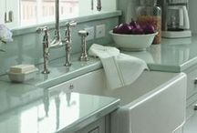 Handmade by Shaws of Darwen / Traditional hand made kitchen sinks and taps by British company Shaws of Darwen.