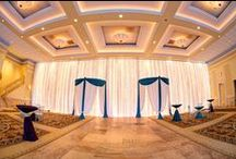 Entrance Draping / Welcome your wedding guests with Entrance Draping from Elegant Event Lighting Chicago! www.EELchicago.com