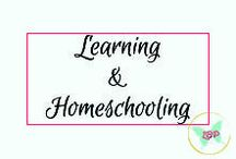 Learning & Homeschooling / Tips, tricks, resources, and activities related to teaching children whether at home or in structured school environments.