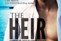 The Heir (A Standalone Greek Billionaire Romance) / A Billionaire, His Intern, and a Forbidden Romance that leads two lovers into dark family secrets.