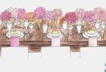 Golden Pink Wedding / Wedding in Golden Pink Colors!
