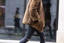 | Fashion • Fake Fur | / Fake Fur Outfits, Blogger Outfits, Fake Fur Trend, Streetstyle, How to wear fake fur