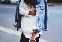 | Fashion • Street Style | / Outfits that inspire me - from blogger looks to big city Street Styles, Trends, Autumn outfits, Spring Outfits, Blogger Style, Fashion Week Outfits