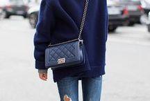 | Fashion • Chanel Boy Bag Outfits| / Chanel Boy Bag Outfits, How to wear Chanel Boy Bag, How to style Chanel Boy Bag, Blogger Style, Blogger Outfits
