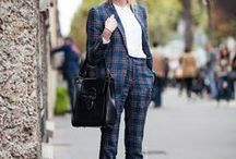 | Fashion • Office Looks | / Office Wear, Office Outfits, Office Looks, Casual Friday, Workwear, Smart Casual, Working Girl, Office Girl, Girlboss, Blogger Style