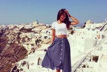 LOOKS mid skirt